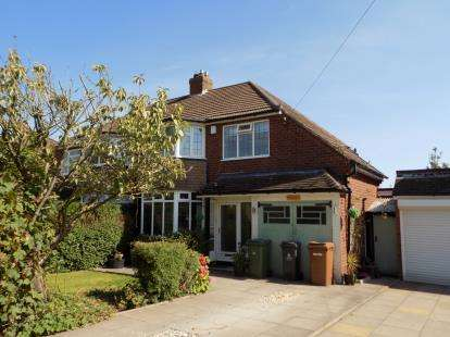 4 Bedrooms Semi Detached House for sale in Frankburn Road, Sutton Coldfield, West Midlands