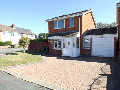 3 Bedrooms Detached House for sale in Hawkswell Drive, Willenhall, West Midlands