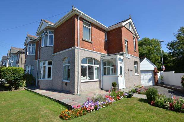 3 Bedrooms Semi Detached House for sale in Beacon Down Avenue, Plymouth, Devon