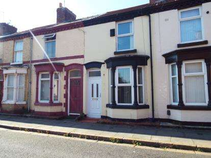 2 Bedrooms Terraced House for sale in Broadwood Street, Liverpool, Merseyside, L15
