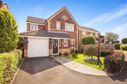 4 Bedrooms Detached House for sale in Oaktree Close, Ingol, Preston, Lancashire, PR2