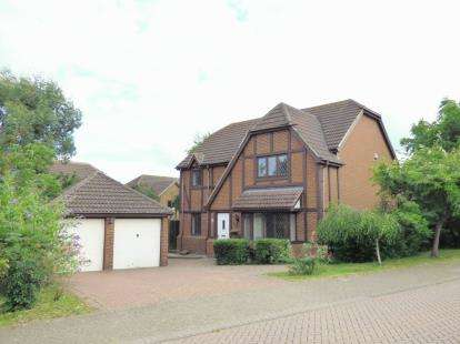 4 Bedrooms Detached House for sale in Paxton Crescent, Shenley Lodge, Milton Keynes, Bucks
