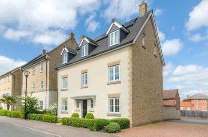 5 Bedrooms Detached House for sale in Harlow Crescent, Oxley Park, Milton Keynes, Buckinghamshire