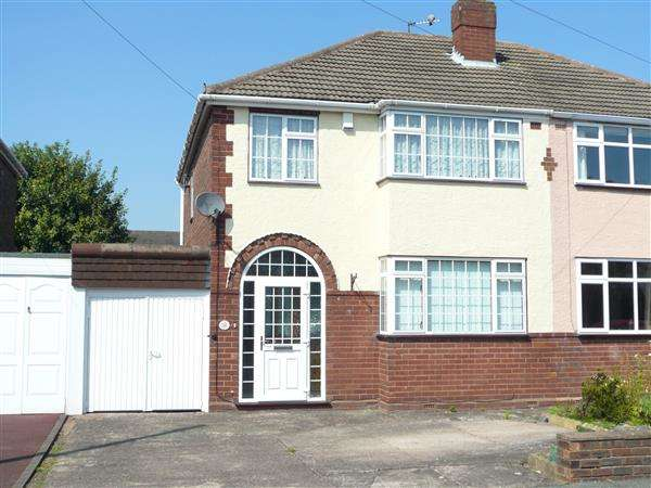 3 Bedrooms Semi Detached House for sale in Springhill Road, Wednesfield, Wednesfield