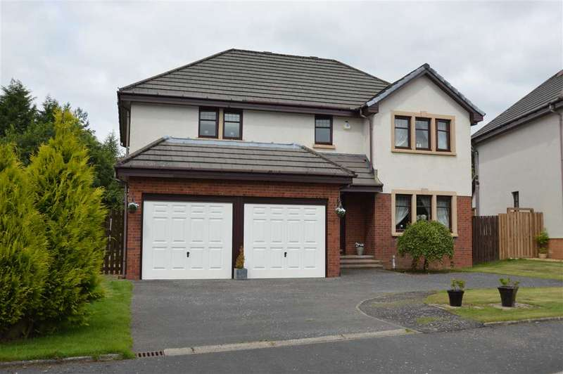 4 Bedrooms Detached House for sale in Golf View, Strathaven