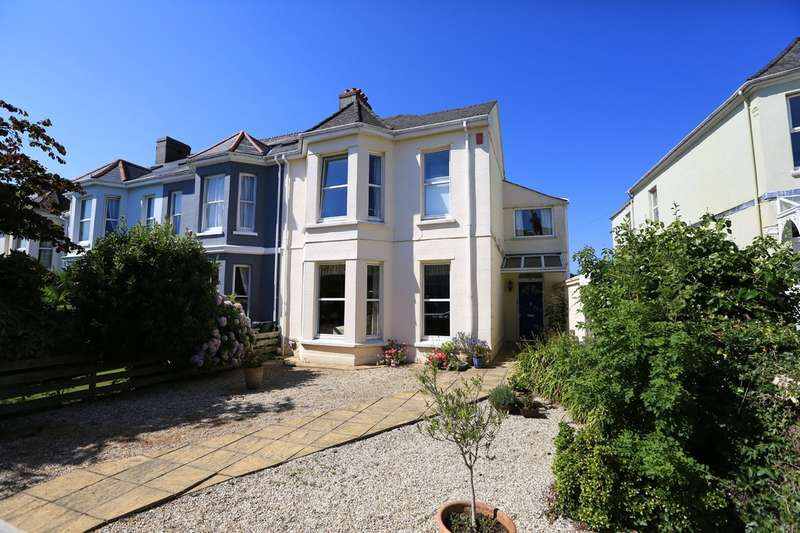 4 Bedrooms End Of Terrace House for sale in Mannamead, Plymouth