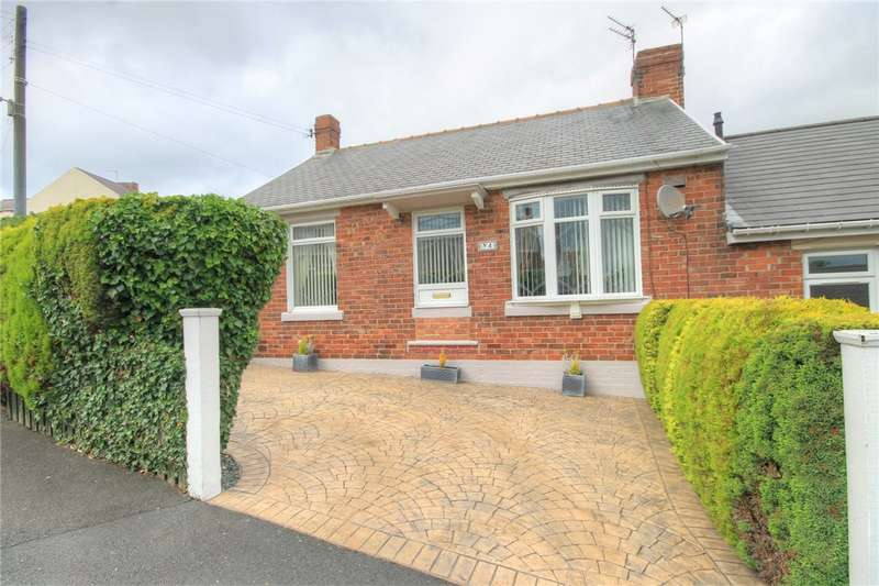 2 Bedrooms Semi Detached Bungalow for sale in Larch Terrace, Tantobie, Stanley, DH9