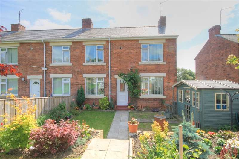 3 Bedrooms End Of Terrace House for sale in Tweed Terrace, Stanley, Durham, DH9