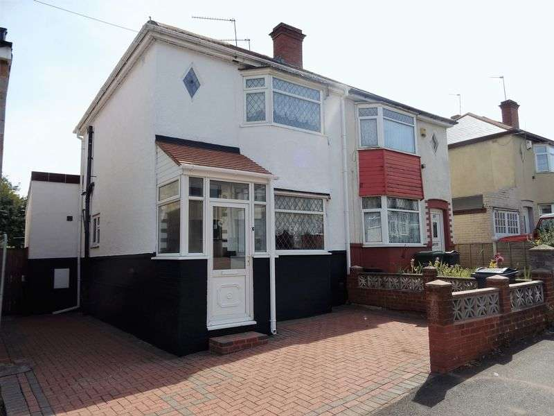 2 Bedrooms Semi Detached House for sale in Coles Lane, West Bromwich