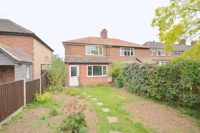 3 Bedrooms Semi Detached House for sale in Norwich Road, New Costessey