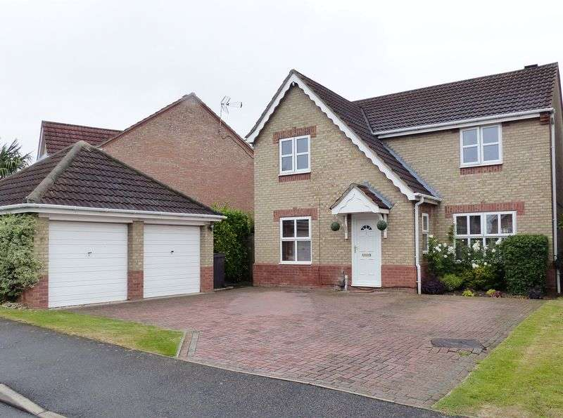 4 Bedrooms Detached House for sale in Kenyon Close, Heighington