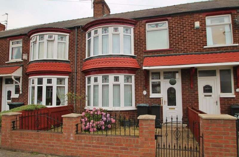 3 Bedrooms Terraced House for sale in Ottawa Road, Longlands