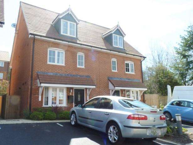 4 Bedrooms Semi Detached House for sale in Treetops Way, Heathfield, East Sussex, TN21 8FN
