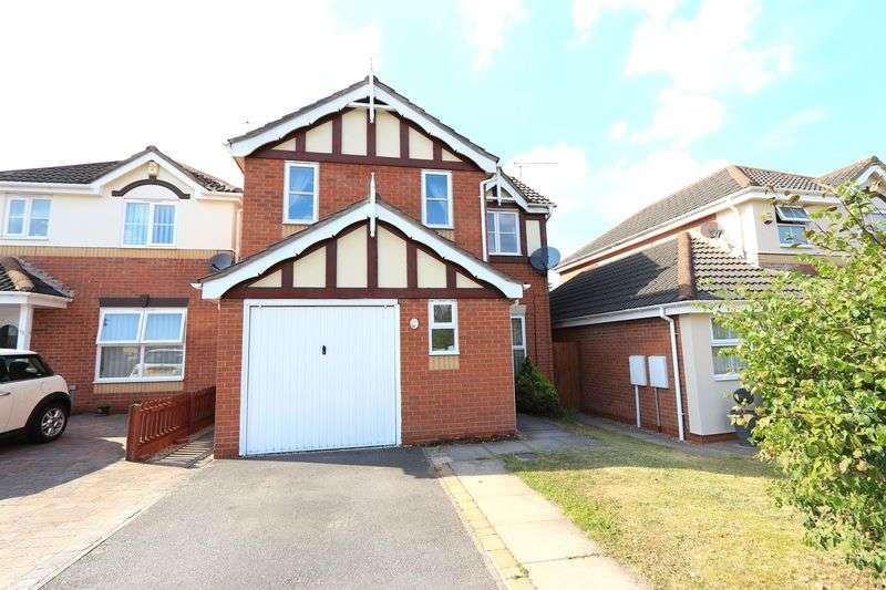 4 Bedrooms Detached House for sale in Cooke Close, Thorpe Astley