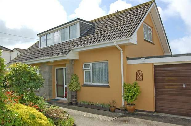 4 Bedrooms Detached House for sale in Loscombe Road, Four Lanes, Redruth, Cornwall