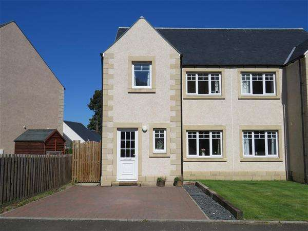 3 Bedrooms Semi Detached House for sale in Harleyburn Drive, Melrose