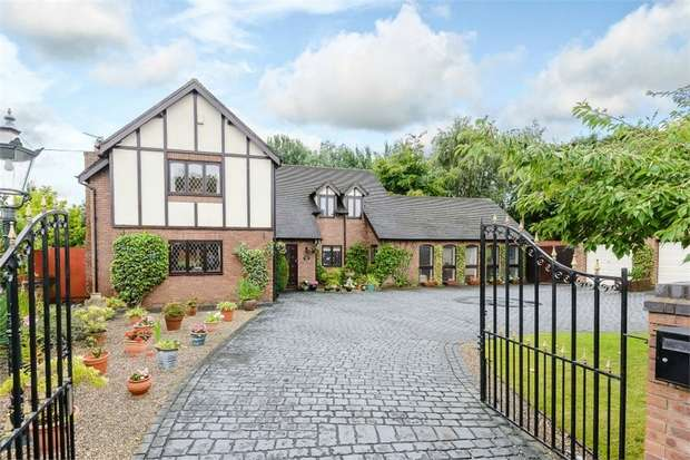 4 Bedrooms Detached House for sale in 70 Chester Road, Sutton Weaver, Frodsham, Cheshire