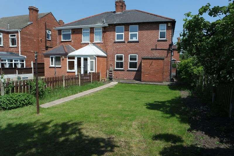 3 Bedrooms Semi Detached House for sale in Morven Avenue, Mansfield Woodhouse