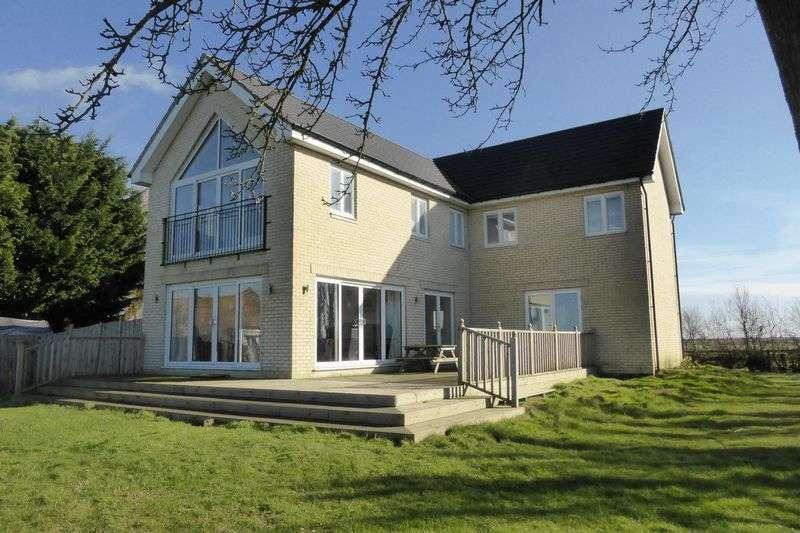4 Bedrooms Detached House for sale in Cock Fen Road, Lakes End, Welney, Norfolk