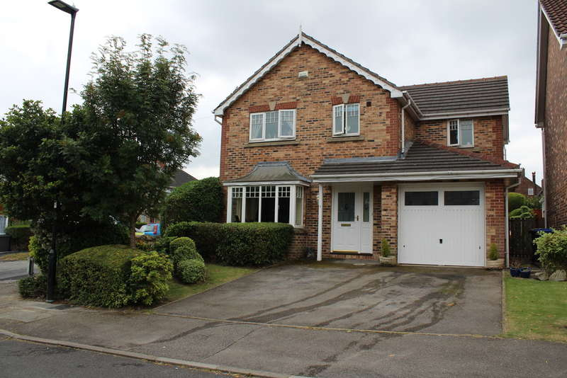 4 Bedrooms Detached House for sale in Fox Lane Court, Frecheville, S12 4UZ