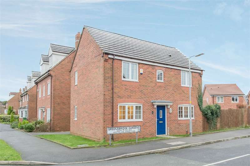 3 Bedrooms Detached House for sale in Greensbridge Gardens, Westhoughton, Bolton, Lancashire