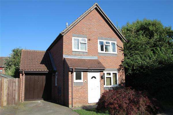 3 Bedrooms Detached House for sale in Dewar Lane, Grange Farm, Kesgrave, Ipswich