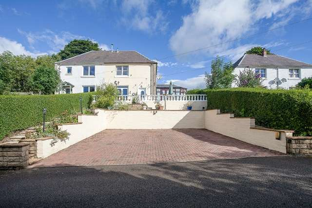 3 Bedrooms Semi-detached Villa House for sale in Millbank Road, Kinbuck by Dunblane, Stirlingshire, FK15 0NJ
