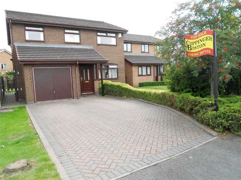 4 Bedrooms Property for sale in Becconsall Drive, Crewe, Cheshire
