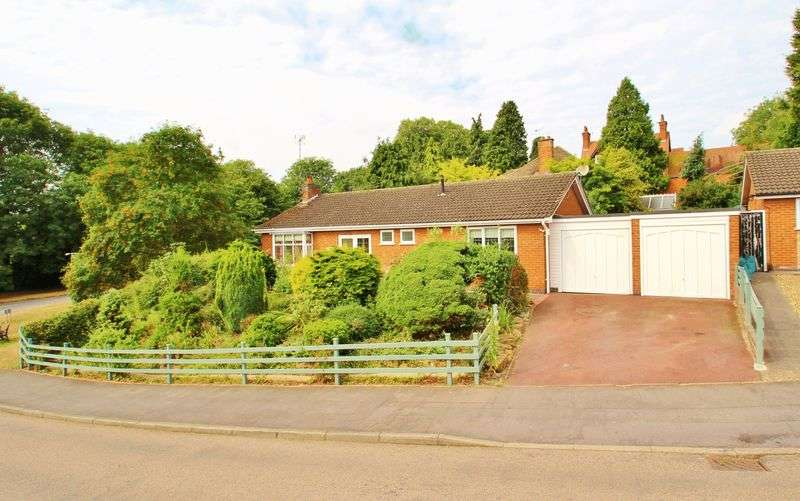 2 Bedrooms Detached Bungalow for sale in Link Road, Anstey, Leicestershire