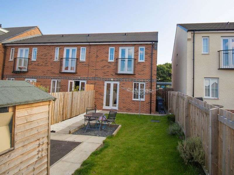 2 Bedrooms Semi Detached House for sale in Rennison Mews, Blaydon