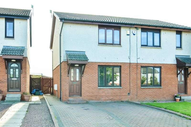 2 Bedrooms Semi Detached House for sale in 28 Oliphant Gardens, Wallyford, East Lothian, EH21 8QP