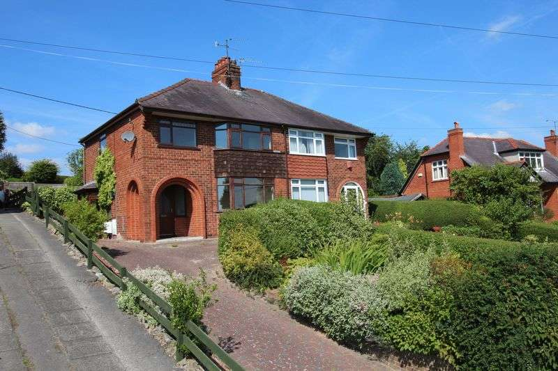 3 Bedrooms Semi Detached House for sale in Wrexham Road, Johnstown
