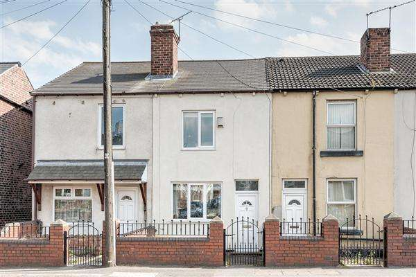2 Bedrooms Terraced House for sale in Midland Road, Barnsley