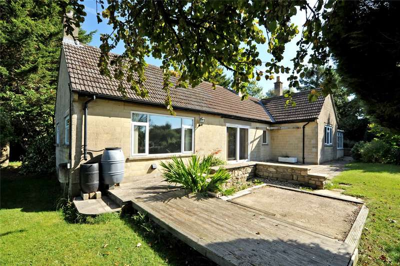 3 Bedrooms Detached Bungalow for sale in Fosse Lane, Batheaston, Bath, BA1