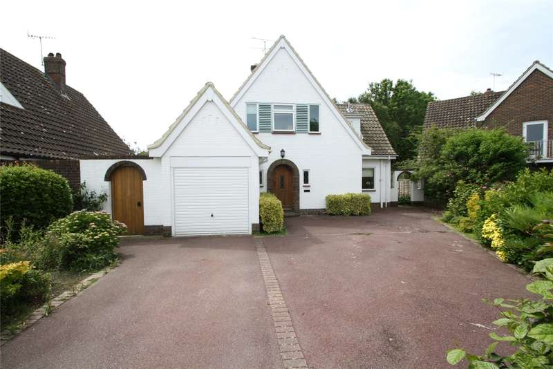 3 Bedrooms Detached House for sale in Arlington Close, Goring By Sea, West Sussex, BN12