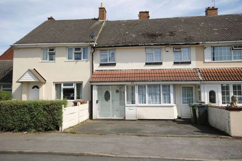 3 Bedrooms Terraced House for sale in Kirkstall Crescent, Bloxwich, Walsall