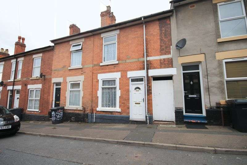 2 Bedrooms Terraced House for sale in PEACH STREET, DERBY