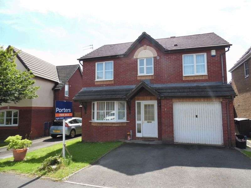 4 Bedrooms Detached House for sale in Blaen Y Cwm Broadlands Bridgend CF31 5AG