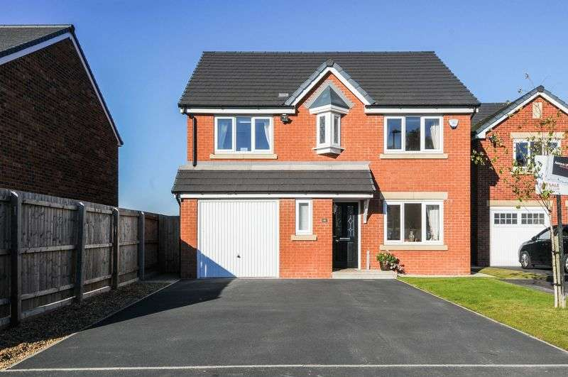 4 Bedrooms Detached House for sale in Almond Pastures, Standish
