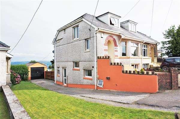 4 Bedrooms Semi Detached House for sale in Brynawel, Llandeilo Road, CARMEL, Llanelli