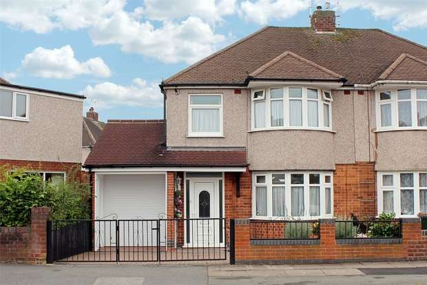 3 Bedrooms Semi Detached House for sale in Carthusian Road, Cheylesmore, Coventry