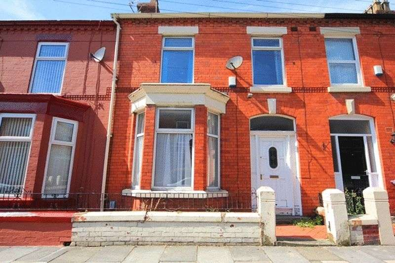 3 Bedrooms Terraced House for sale in Granville Road, Wavertree, Liverpool, L15