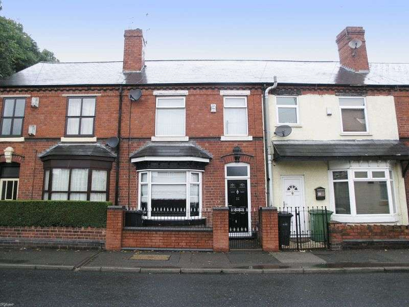 3 Bedrooms Terraced House for sale in DUDLEY, Netherton, Hill Street