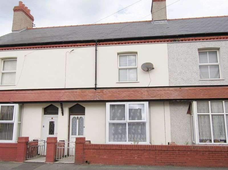 2 Bedrooms Terraced House for sale in Warren Road, Rhyl