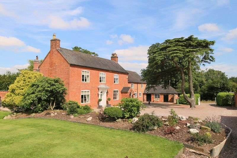 6 Bedrooms Detached House for sale in Ellenhall, Eccleshall, Stafford