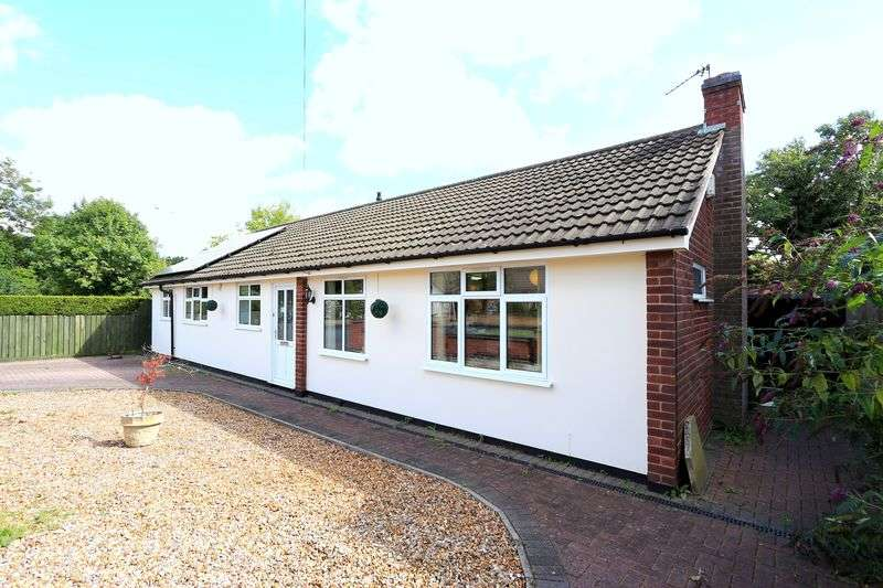 3 Bedrooms Detached Bungalow for sale in Charnwood Drive, Leicester Forest East