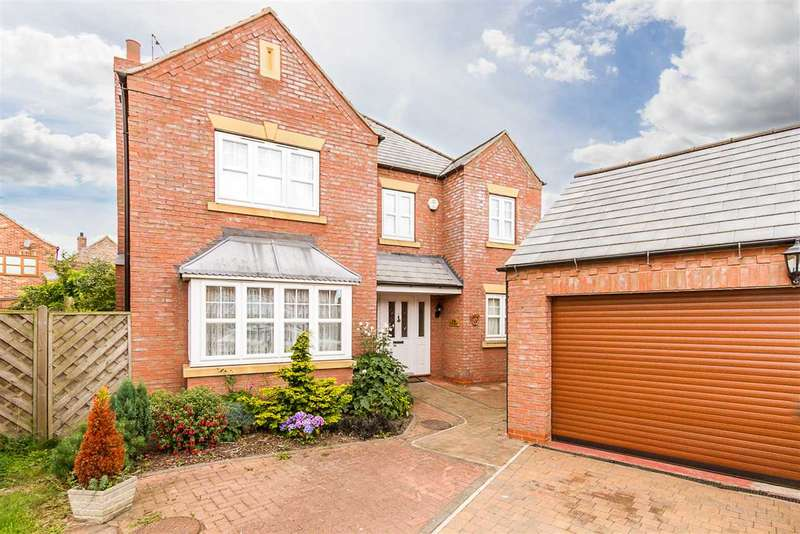 4 Bedrooms Detached House for sale in The Granary, Scotter, Gainsborough