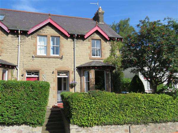 4 Bedrooms Semi Detached House for sale in Ivybank, Dingleton Road, Melrose