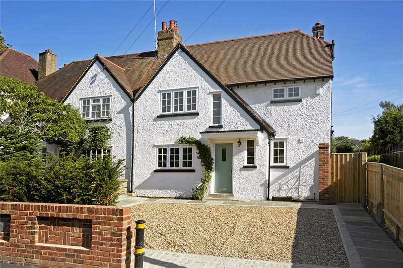 3 Bedrooms Semi Detached House for sale in Mill Road, Epsom, Surrey, KT17
