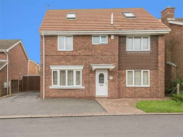 5 Bedrooms Detached House for sale in Prince Charles Drive, Barton-upon-Humber, Lincolnshire